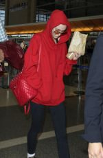 LILY-ROSE DEPP at Los Angeles International Airport 05/22/2016