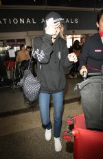 LILY-RPOSE DEPP Arrives at Los Angeles international Airport 05/15/2016