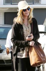 LISA KUDROW Out in West Hollywood 05/27/2016