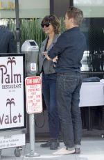 LISA RINNA Leaves Palm Restaurant in Beverly Hills 05/06/2016