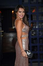 LIZIE CUNDY at Birthday Party at Tramp Hotel in London 05/18/2016