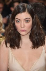 LORDE at Costume Institute Gala 2016 in New York 05/02/2016