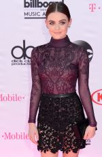 LUCY HALE at 2016 Billboard Music Awards in Las Vegas 05/22/2016