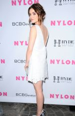 LUCY HALE at Nylon Young Hollywood Party in West Hollywood 05/12/2016