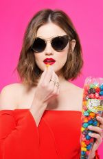 LUCY HALE in Cosmopolitan Magazine, May 2016 Issue