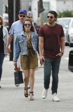 LUCY HALE Shoping at Rag and Bone in Los Angeles 05/28/2016