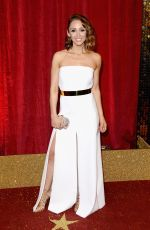 LUCY JO HUDSON at British Soap Awards 2016 in London 05/28/2016