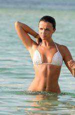 LUCY MECKLENBURGH in Bikini at a Beach in Dubai, April 2016