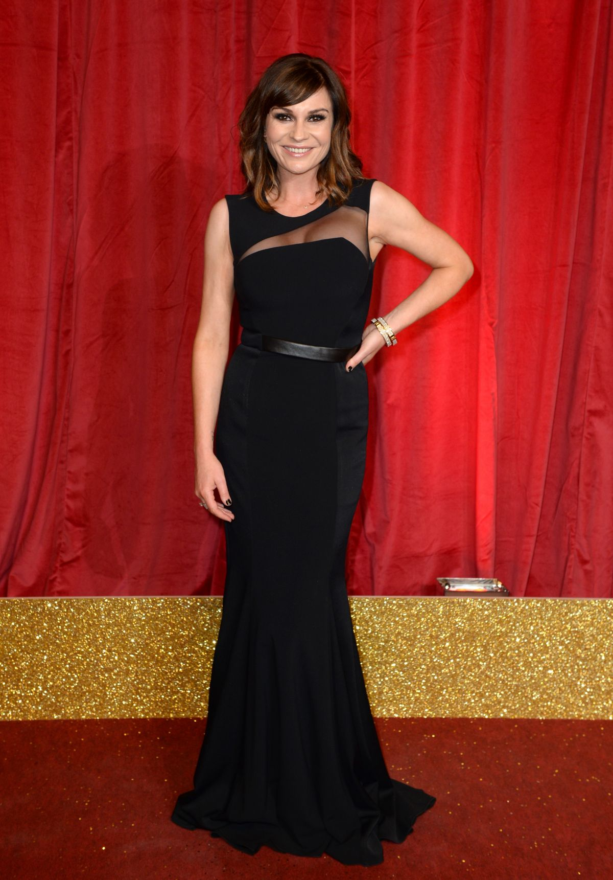 LUCY PARGETER at British Soap Awards 2016 in London 05/28/2016