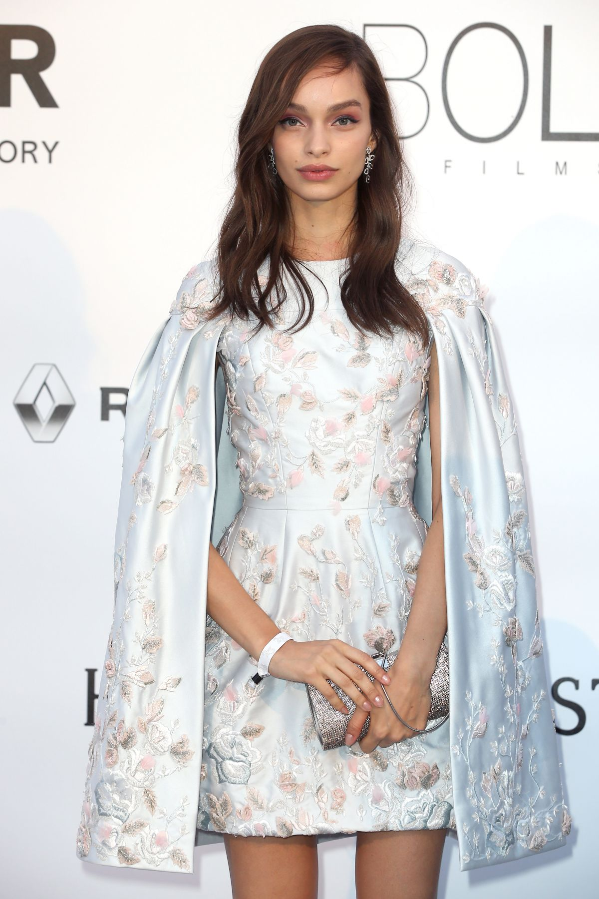 LUMA GROTHE at Amfar's 23rd Cinema Against Aids Gala in Antibes 05/19/2016