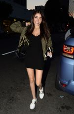 MADISON BEER at Mr. Chow