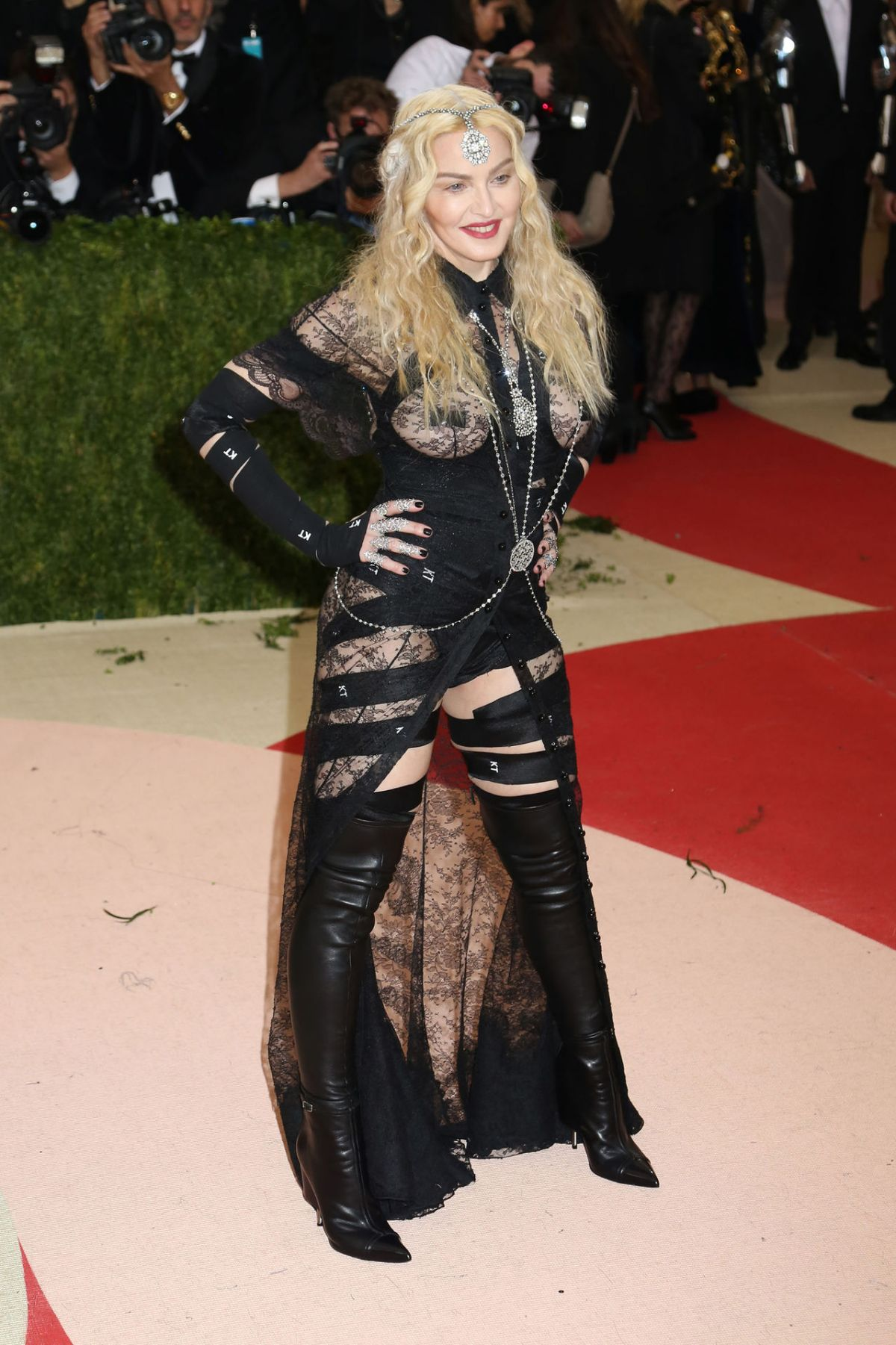 MADONNA at Costume Institute Gala 2016 in New York 05/02/2016