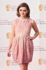 MAISIE WILLIAMS at House of Fraser British Academy Television Awards 05/08/2016