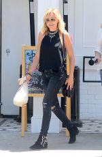MALIN AKERMAN Leaves Au Fudge in West Hollywood 05/12/2016