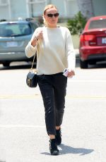 MALIN AKERMAN Out and About in Beverly Hills 05/17/2016
