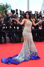 MALLIKA SHERAWAT at 'Cafe Society' Premiere and 69th Cannes Film Festival Opening 05/11/2016