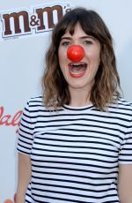 MANDY MOORE at Red Nose Day Special on NBC in Universal City 05/26/2016
