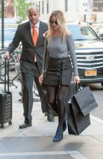 MARGOT ROBBIE Out Shopping in New York 05/01/2016