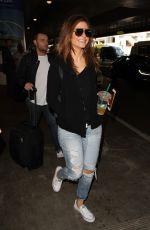 MARIA MENOUNOS at Los Angeles International Airport 05/26/2016