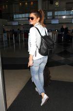 MARIA MENOUNOS at Los Angeles Internatnional Airport 05/25/2016