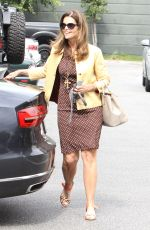 MARIA SHRIVER Out for Breakfast at New York Bagels in Brentwood 05/06/2016