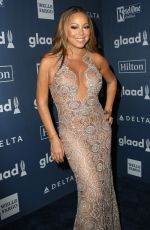 MARIAH CAREY at 27th Annual Glaad Media Awards in New York 05/14/2016
