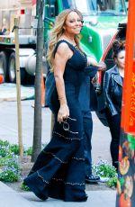 MARIAH CAREY at Philippe Restaurant in New York 05/16/2016