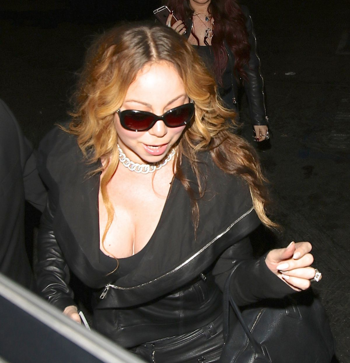 MARIAH CAREY Leaves a Meeting in Beverly Hills 05/25/2016