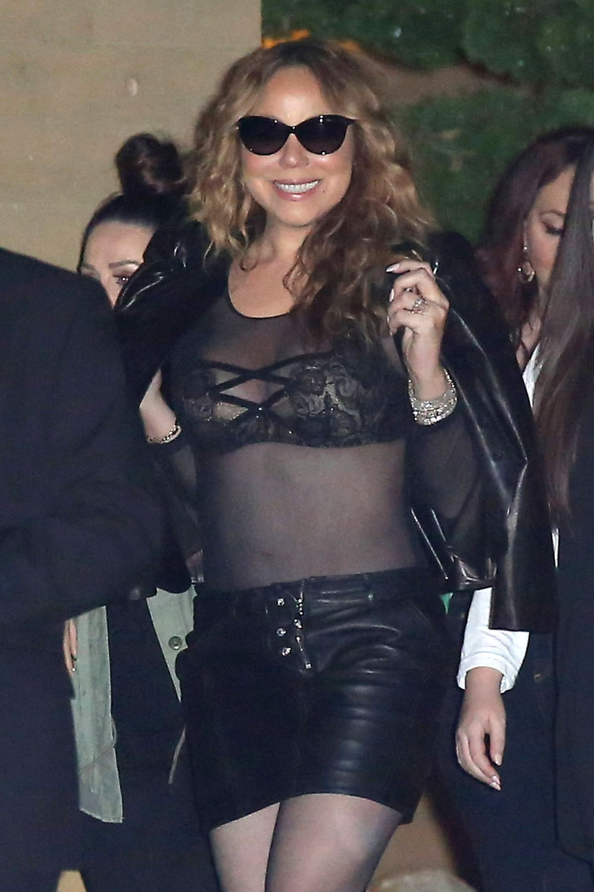 MARIAH CAREY Leaves Nobu Restaurant in Malibu 05/26/2016