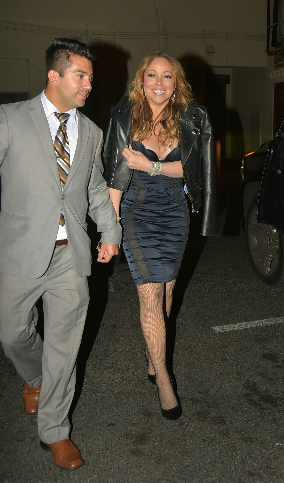 MARIAH CAREY Night Out in Los Angeles 05/29/2016