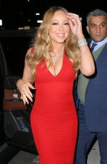 MARIAH CAREY Night Out in New York 05/16/2016