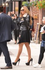 MARIAH CAREY Out in New York 05/17/2016