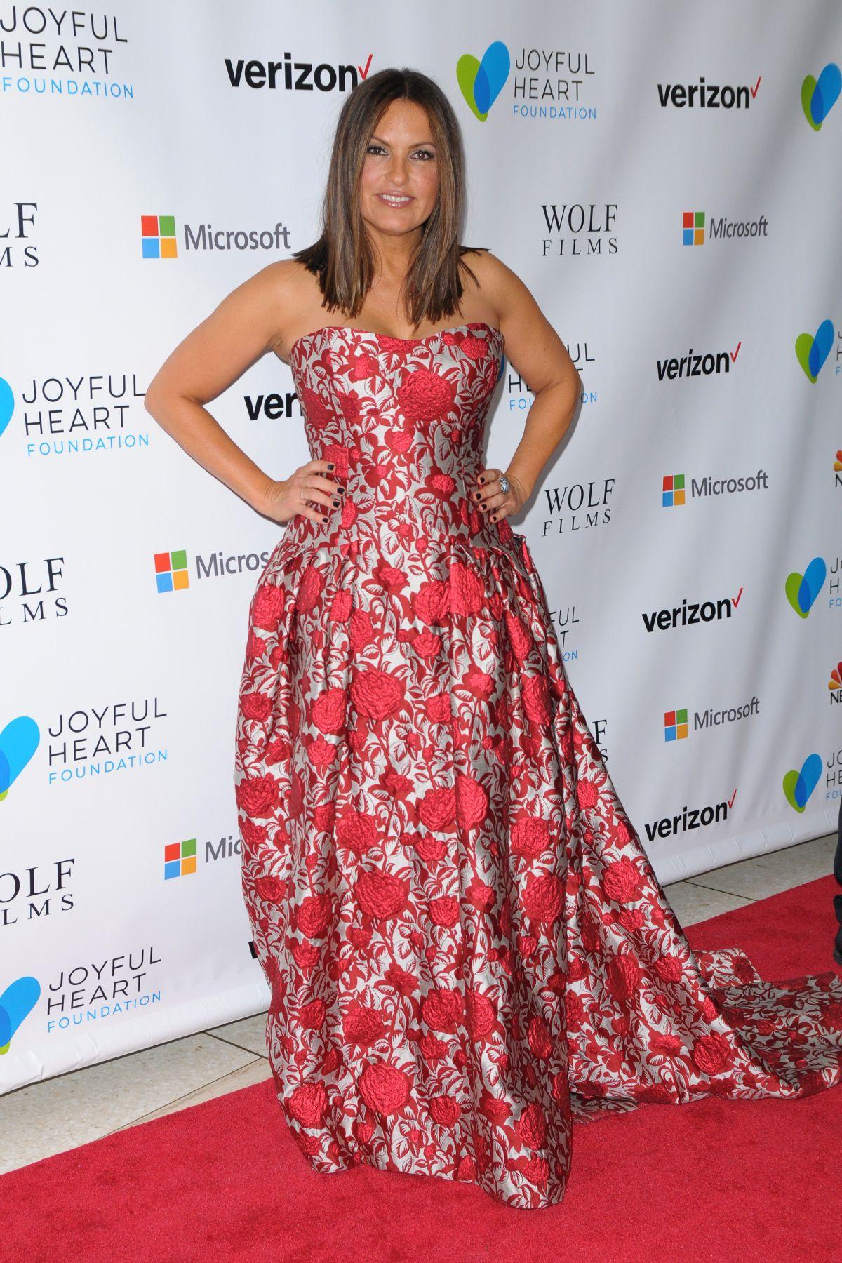 MARISKA HARGITAY at Joyful Revolution Gala in New York 05/11/2016