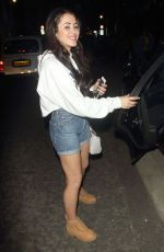 MARNIE SIMPSON Night Out in London 05/12/2016