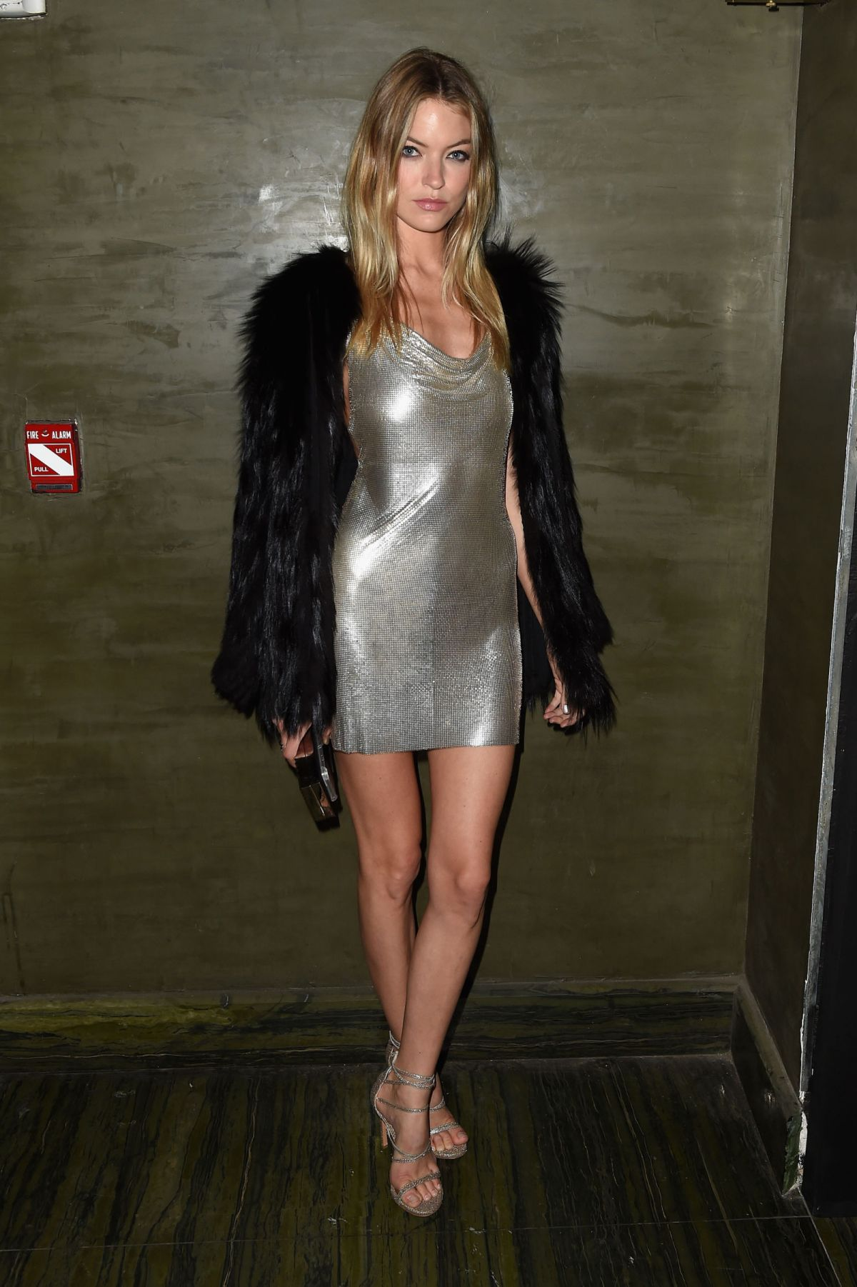 MARTHA HUNT at Met Gala After-party in New York 05/02/2016
