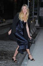 MARTHA HUNT Leaves a Photostudio in New York 05/24/2016