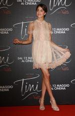 MARTINA STOESSEL at Tini: El Gran Cambio de Violetta Photocall at Callao Cinema in Rome 04/29/2016