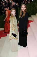 MARY-KATE and ASHLEY OLSEN at Costume Institute Gala 2016 in New York 05/02/2016