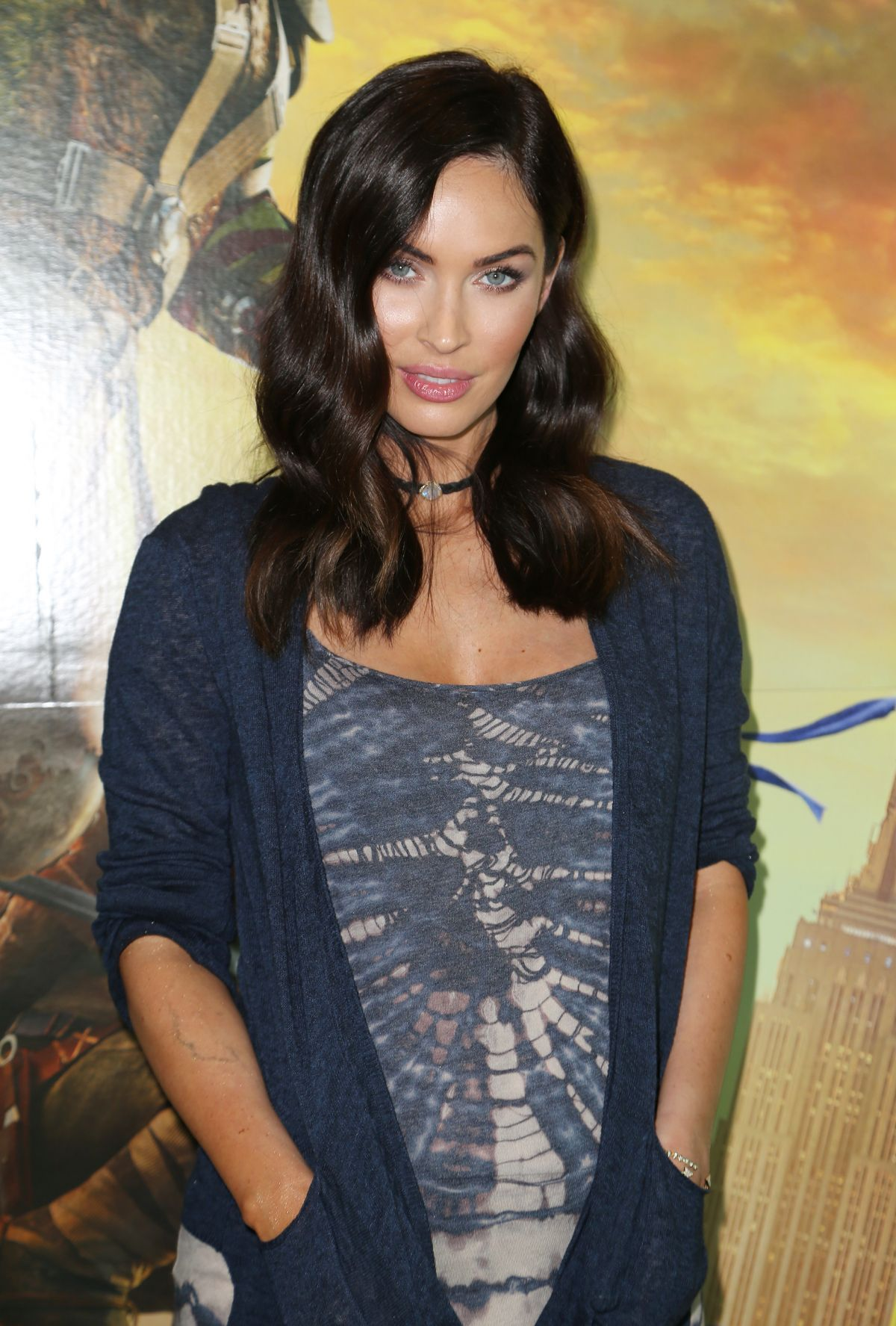 MEGAN FOX at Special Fan Event at Regal Xinemas South Beach in Miami 05/10/2016