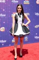 MEGAN NICOLE at 2016 Radio Disney Music Awards in Los Angeles 04/30/2016