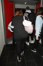 MEGHAN TRAINOR at LAX Airport in Los Angeles 05/25/2016