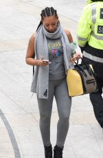 MELANIE BROWN at a Gym in London 05/13/2016