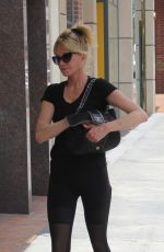 MELANIE GRIFFITH in Tights Out in Beverly Hills 05/23/2016