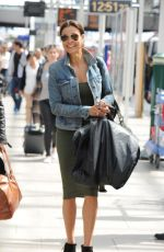 MELANIE SYKES at Piccadilly Train Station in Manchester 05/06/2016