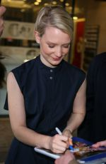 MIA WASIKOWSKA at BBC Studio in London 05/10/2016