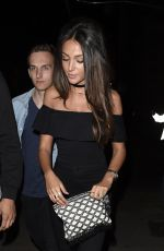 MICHELLE KEEGAN at Club LIV in Manchester 05/12/2016