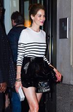 MICHELLE MONAGHAN Leaves Met Gala After-party in New York 05/02/2016