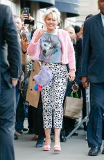 MILEY CYRUS Out and About in New York 05/16/2016