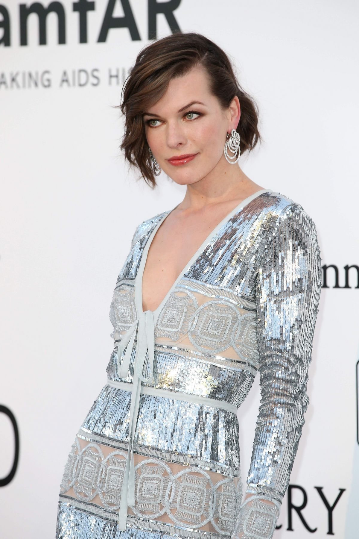 MILLA JOVOVICH at Amfar's 23rd Cinema Against Aids Gala in Antibes ... Milla Jovovich