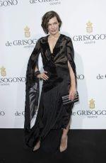 MILLA JOVOVICH at De Grisogono Party at Cannes Film Festival 05/17/2016